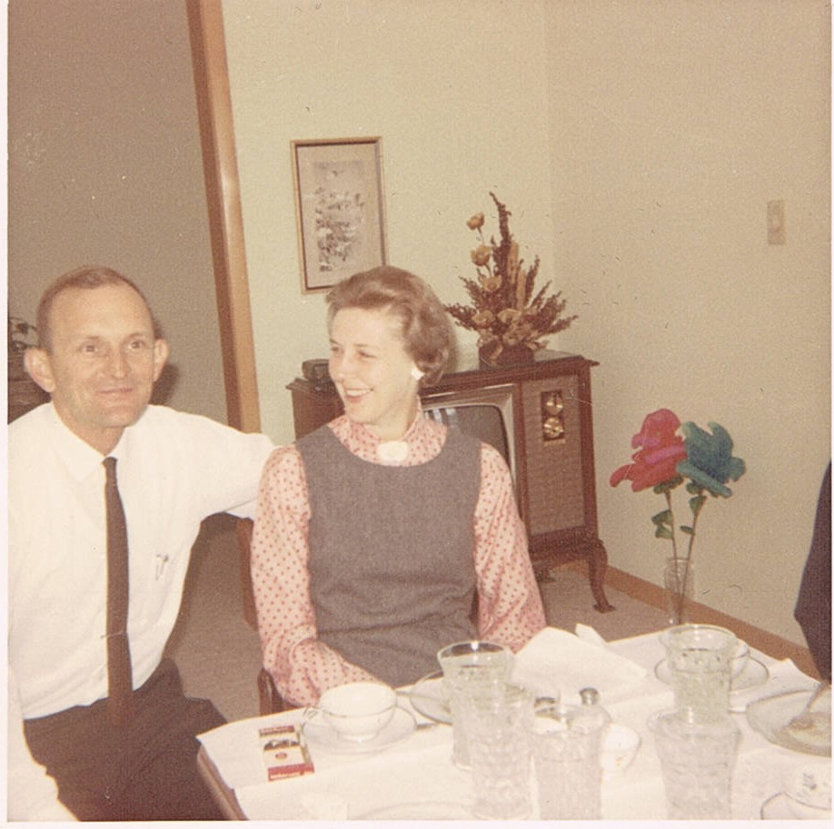 grammie and grandpa 1966