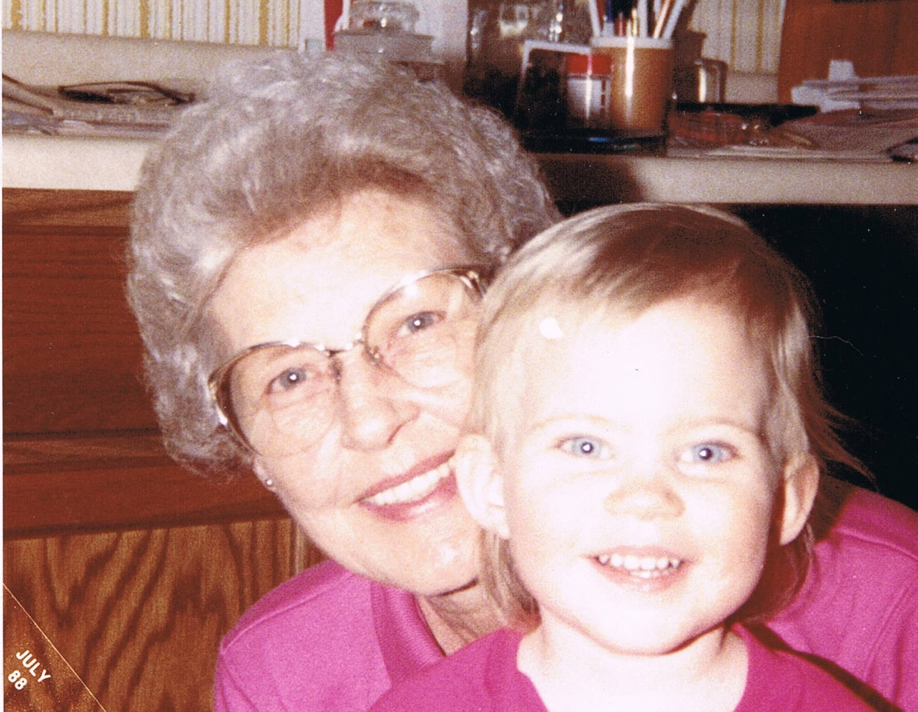 grammie and me 1988