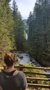 Falls at Wallace Falls State Park, WA